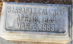 Barbara Ann Charity <i>Kempson</i> Caldwell