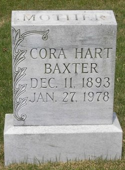 Cora <i>Hart</i> Baxter