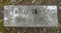 Mary Love <i>Washington</i> Hunt
