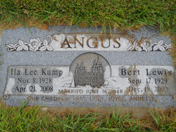 Ila Lee <i>Kump</i> Angus