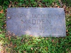 Mary Jacquelyn <i>Boedeker</i> Madden