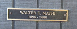 Walter Edward Mathi