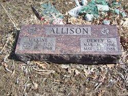 Maxine <i>Turner</i> Allison