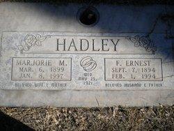 Marjorie <i>Melvin</i> Hadley
