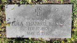 Eula <i>Shapard</i> Parker