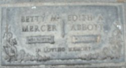 Edith Alice <i>Boyd</i> Abbott