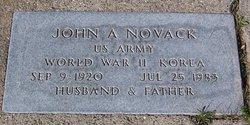 John A Novack