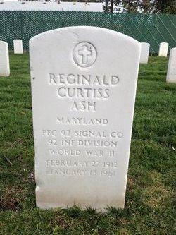 Reginald Curtiss Ash