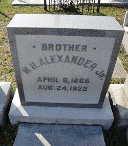William H. Alexander, Jr.