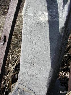 Elizabeth <i>Wills</i> Battershell