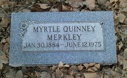 Myrtle <i>Quinney</i> Merkley