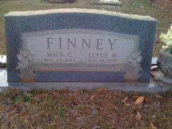 Lessie Iola <i>Mackey</i> Finney
