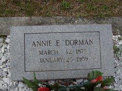 Annie E Dorman