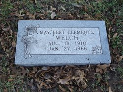 Mrs Maybert <i>Clements</i> Welch