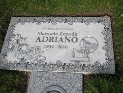 Manuela <i>Zepada</i> Adriano