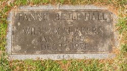 Fannie Belle <i>Hall</i> Akers