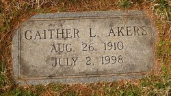Gaither Lee Akers