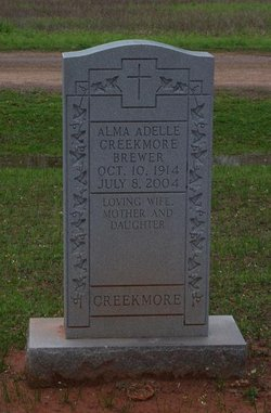 Alma Adelle <i>Creekmore</i> Brewer