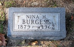 Nina Harriet <i>Lyon</i> Burgess