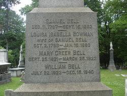 Louisa Isabella <i>Bowman</i> Bell