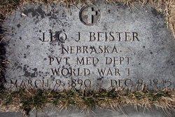 Pvt Leonard James Leo Beister