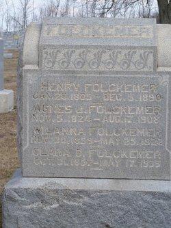 Clara B. Folckemer