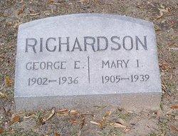 Mary I. <i>Futch</i> Richardson