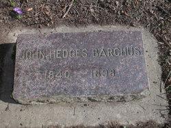 John Hedges Barchus