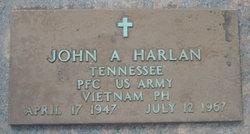 PFC John Alvin Harlan