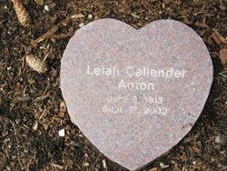 Lelah <i>Callender</i> Anton