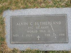 Alvin C Sutherland
