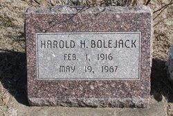 Harold H Bolejack