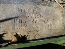 Myrtie Ethel <i>Barks</i> Bear