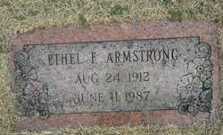 Ethel F Armstrong