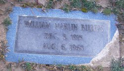 William Marlin Billips