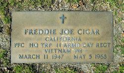 PFC Freddie Joe Cigar