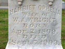 Harriett Ophelia <i>Chancy</i> Wright