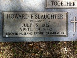 Howard F Slaughter