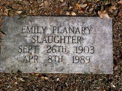 Emily C <i>Flanary</i> Slaughter
