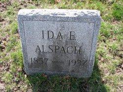 Ida <i>Schultz</i> Alspach