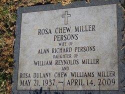 Rosa Chew <i>Miller</i> Persons