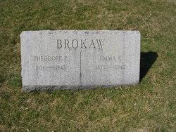 Emma Ruby <i>Blauvelt</i> Brokaw