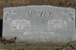 Wilma Lucille <i>Bailey</i> McVay