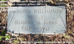 Minerva Belle <i>Williamson</i> Brown