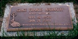Grace Francis <i>Killian</i> Abernathy