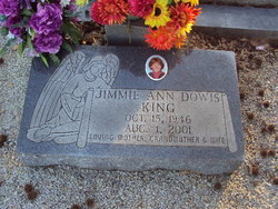 Jimmie Ann <i>Dowis</i> King
