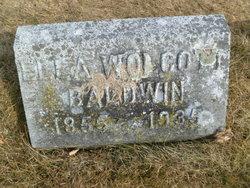 Ella <i>Wolcott</i> Baldwin