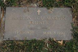 Marion Lou <i>Martin</i> Brower