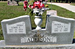 Lucy I. Adkison