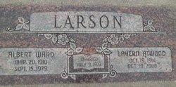 Ethel Lavern <i>Atwood</i> Larson